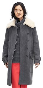 Banana Republic Shearling Lamb Coat