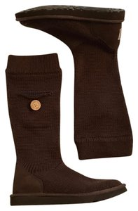 UGG Australia Brown Knit Boots