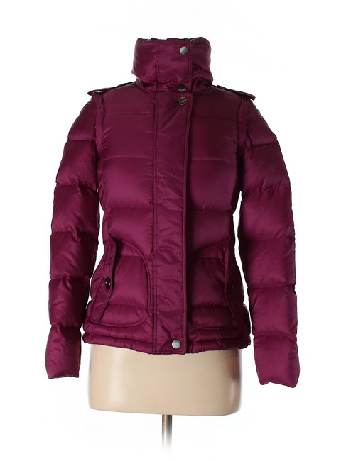 Item - Dark Purple Puffer Coat Size 2 (XS)