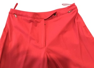 Prada Boot Cut Pants red