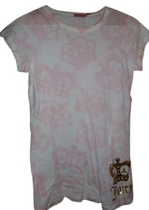 Juicy Couture T Shirt pink, white