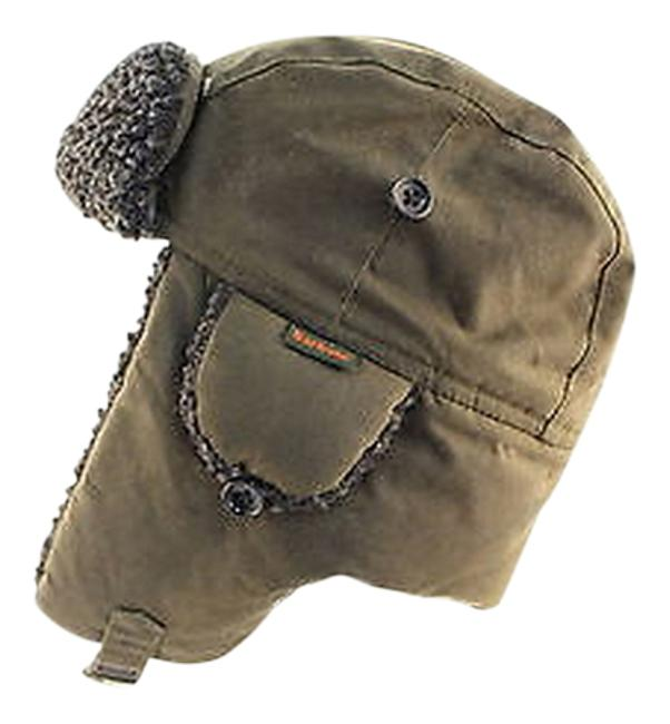 Item - Womens Olive Brown Ski Hat Cotton Outer Casual