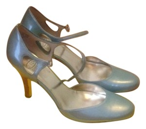 Circa Joan & David Light Blue Pumps