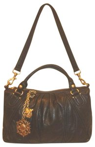 Juicy Couture Refurbished Leather Convertible Lined Cross Body Bag