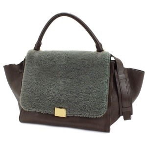 Céline Tote in Brown/Grey