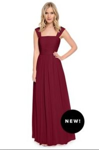 Wtoo Cabernet Dove & Dahlia Lydia Dress Dress