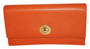 BVLGARI Holiday Made In Italy orange Clutch
