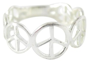 Other Sterling Silver Peace Sign Ring | Ring Size 7