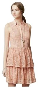 Anthropologie Lace Collar Dress