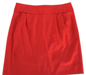 J.Crew Mini Skirt red