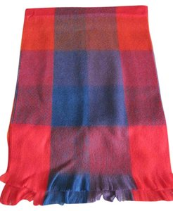 Dillard's DILLARD'S WOMEN'S RED PUPLE BLUE MULTI-COLOR 100% ACRYLIC WINTER SCARF