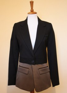 Smythe Two For One Wool Black Moss Blazer