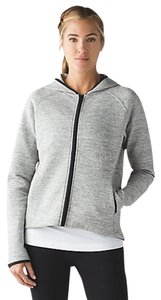 Lululemon NWT Lululemon City Bound Hoodie Heathered Grey