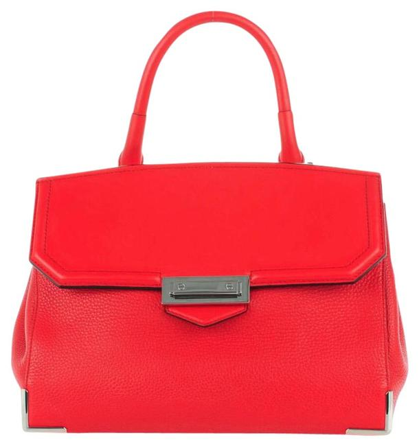 Item - Large Marion Red Leather Satchel