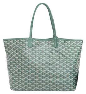 Goyard Tote in green