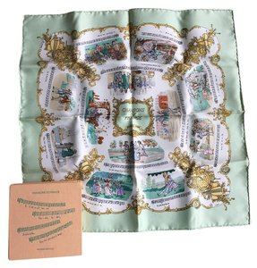 Hermès Authentic Hermes Silk Scarf New Without Tag!
