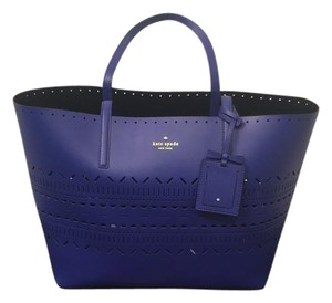 Kate Spade Tote in Night Life Blue