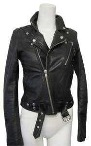 BLK DNM Motorcycle Jacket