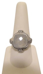Nicky Butler Nicky Butler Rainbow Moonstone .925 Solitaire Ring 9