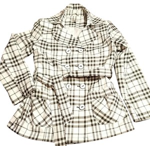 Giacca Size L Plaid Raincoat