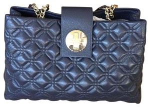 Kate Spade Chanel Chain Satchel in NAVY