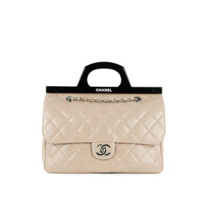 Chanel Delivery Cc Tote in Beige