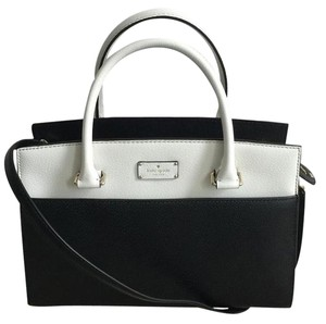 Kate Spade Satchel in Black / Cement