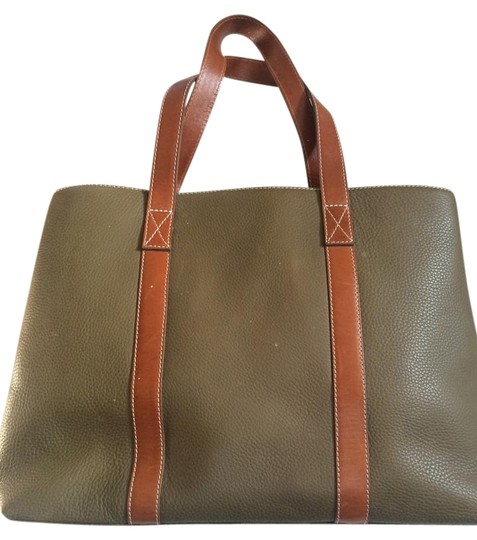 Preload https://img-static.tradesy.com/item/20326394/argentine-olive-green-leather-tote-0-1-540-540.jpg