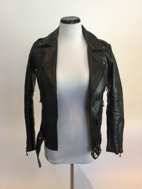Straight to Hell Leather Jacket Image 1