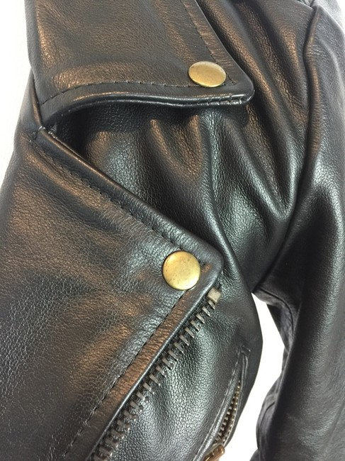 Straight to Hell Leather Jacket Image 3
