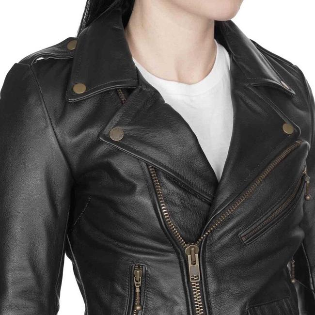Straight to Hell Leather Jacket Image 6