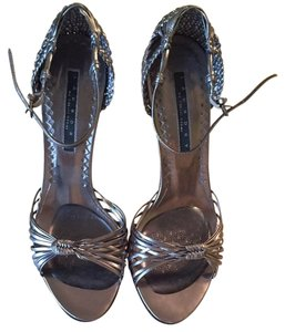 Laundry by Shelli Segal Silver Pumps