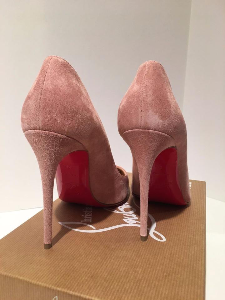 2b8853231f3 Christian Louboutin Pink Rose 36.5 Suede Pigalle Follies 100 Pumps Size US  6.5 Regular (M