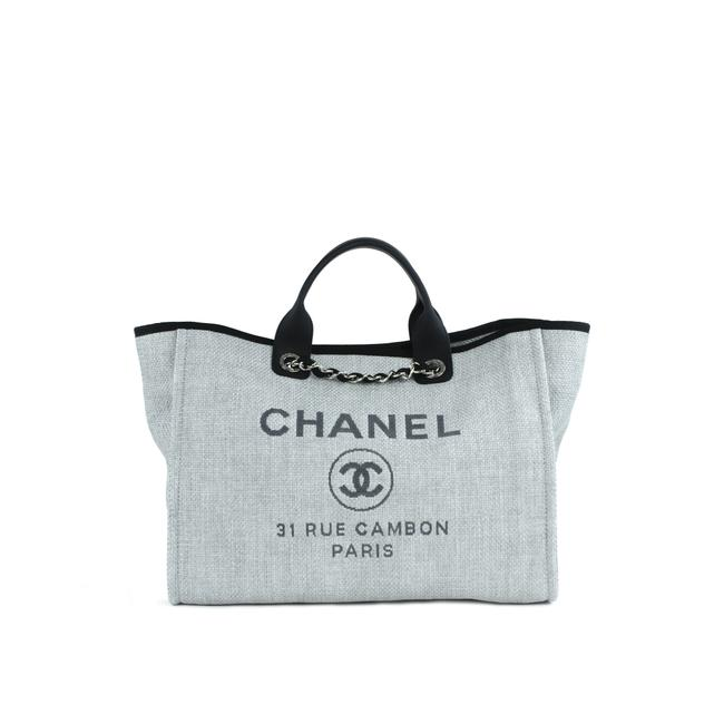 Item - Shopping Deauville Gray Canvas Tote