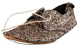 Anniel Holiday Spring Glitter Flats