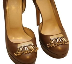 Versace brown Pumps