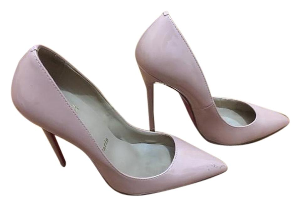 Christian Nude Louboutin Nude Christian Blush So Kate Pumps ccea7d