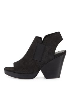Eileen Fisher Current Plus Ankle Weave Black Boots