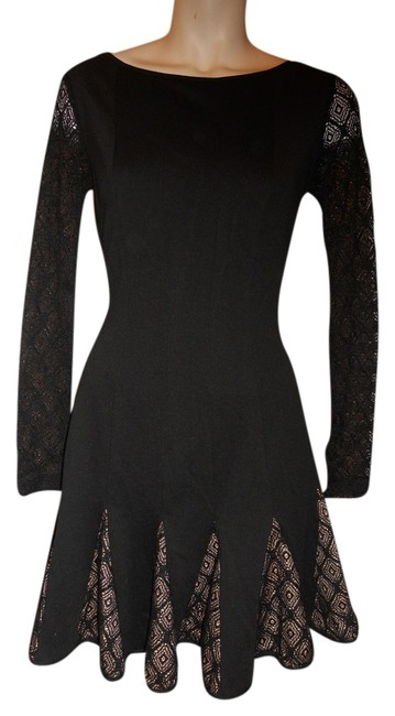 Preload https://item3.tradesy.com/images/catherine-malandrino-black-for-design-nation-knit-above-knee-cocktail-dress-size-2-xs-2032697-0-0.jpg?width=400&height=650