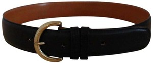 Coach Vintage Coach Wide Leather Belt with Brass Buckle~Style 8500
