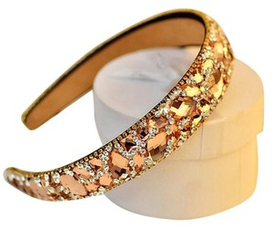 Nabe Marquise Champagne Glass Stone High-End Head Band