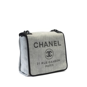 Chanel Gray Messenger Bag