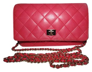 Chanel Crossbody Leather Reissue Woc Quited Shoulder Bag