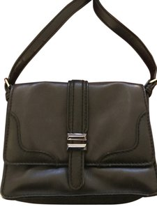 Charlotte Ronson Leather Shoulder Cross Body Bag