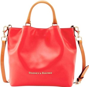 Dooney & Bourke Barlow City Leather Chic Tote in Geranium
