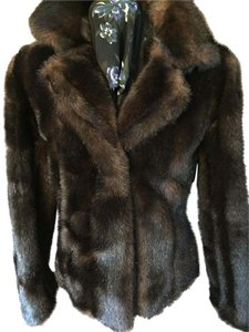 Marvin Richards Nwot Faux Fur Size S Brown Jacket