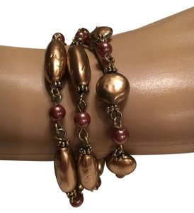 Other Gold Tone Fall Bracelet