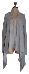 Splendid Thermal Waffle Draped Open Front Cardi Cardigan