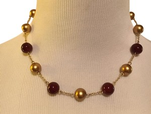 Other Gold / Red Necklace