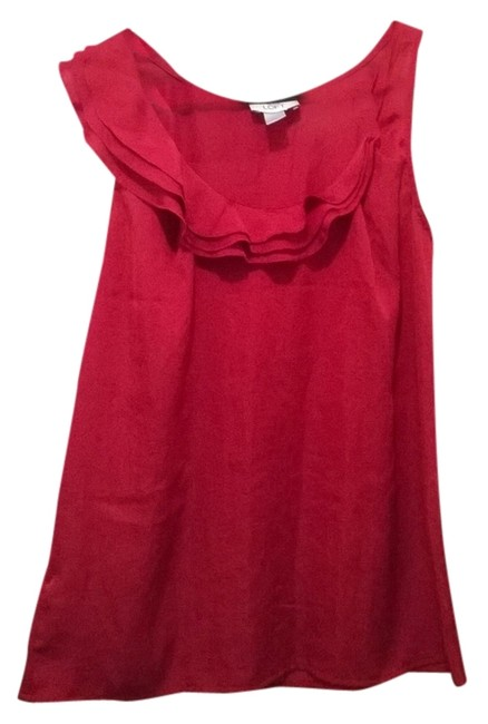 Preload https://item4.tradesy.com/images/ann-taylor-loft-red-blouse-size-6-s-2032748-0-0.jpg?width=400&height=650